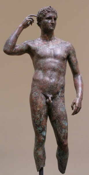 Athlete with a smallish penis, 200BC